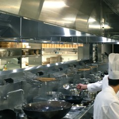 make up air comfortable commercial kitchen