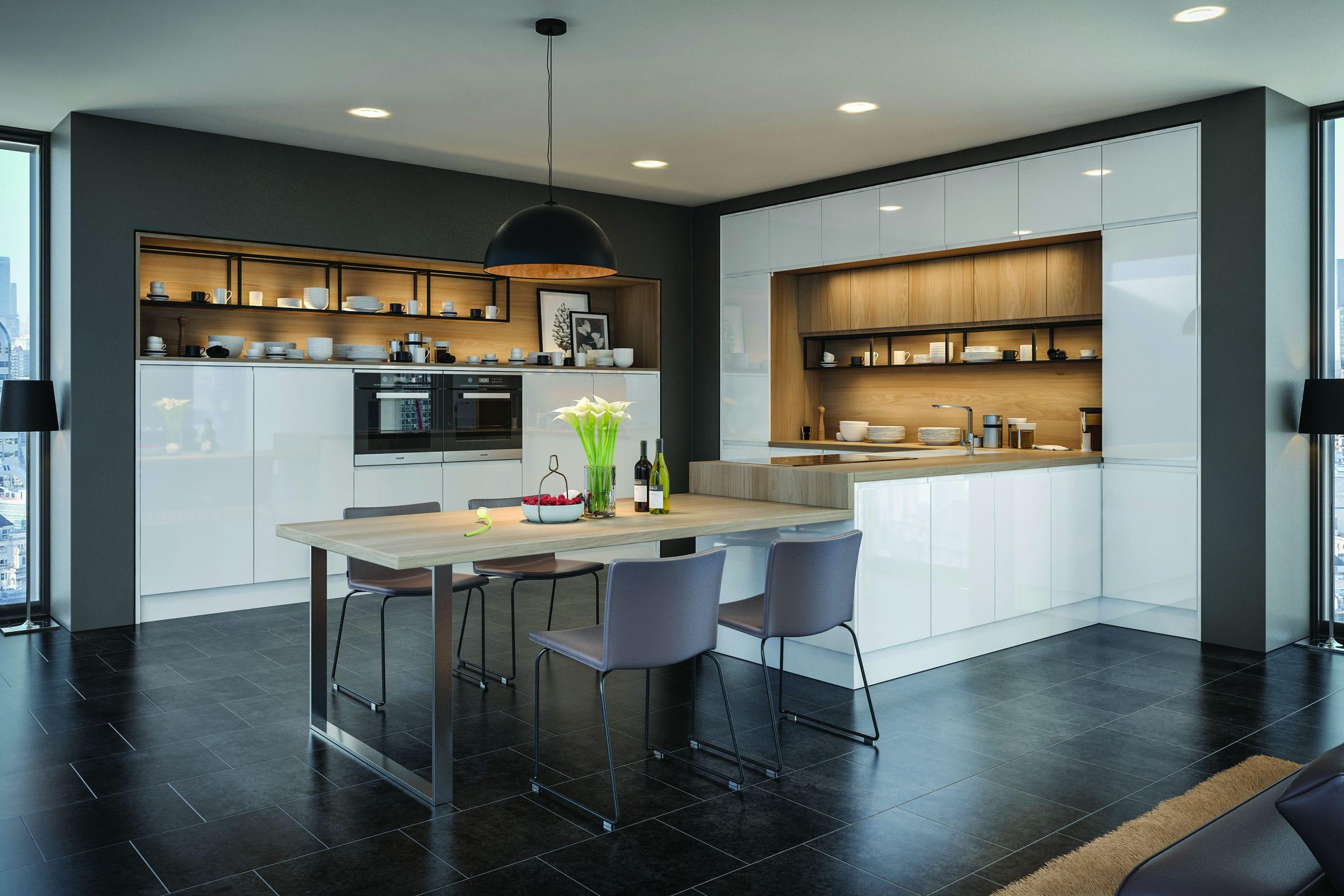 Pros And Cons To Gloss Kitchens Kitchen Blog Kitchen Design Style Tips Ideas Kitchen Warehouse Uk