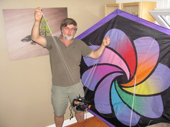 Rob Huntley's aerial kite photography was part of the 2012 West End Studio Tour. This year's dates are September 7-8 and September 14-15.