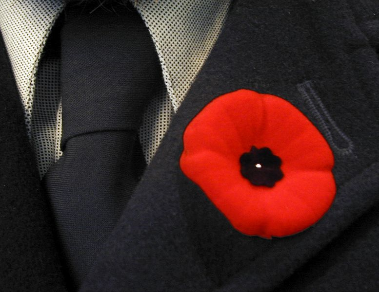 Were you at the Westboro Cenotaph for Remembrance Day?