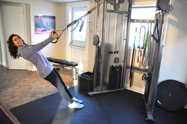 Setting goals for 2014? Local fitness expert Sarah Zahab says slow and steady always wins the race. Photos by Andrea Tomkins.