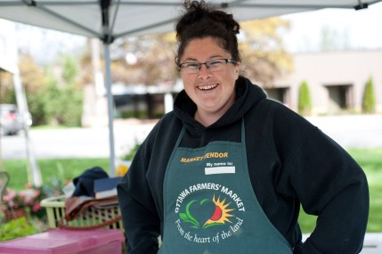 Sarah Alison from Glengyle Garlic Farms