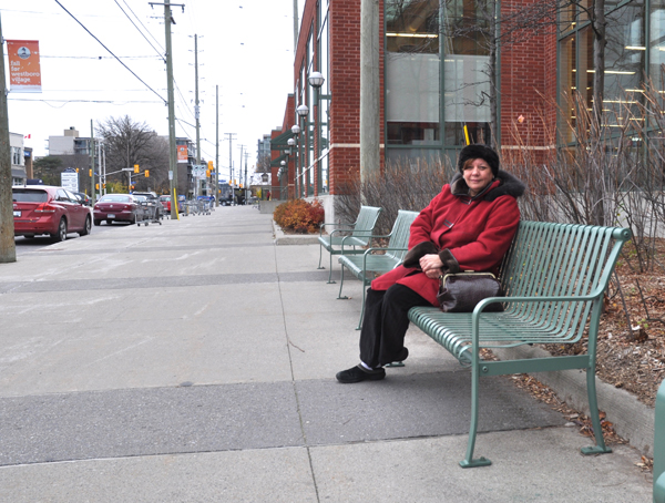 Christine Leadman, the former Executive Director of the Westboro BIA and subsequently Kitchissippi Ward Councillor, was one of the individuals at the centre of this controversial development 11 years ago. Photo by Andrea Tomkins