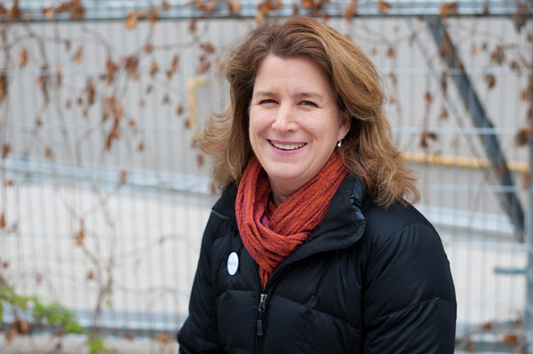 Three out of the four co-founders of Refugee 613 live in Kitchissippi Ward: Louisa Taylor (pictured), Leslie Emory of Ottawa Community Immigrant Services Organization, and Jack McCarthy of Somerset West CHC. Carl Nicholson of Catholic centre for immigrants, is the fourth founder of Refugee 613. Photo by Kate Settle