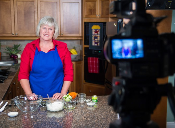Paula Roy's new cooking show will be airing this fall. Photo by Christian Gatien
