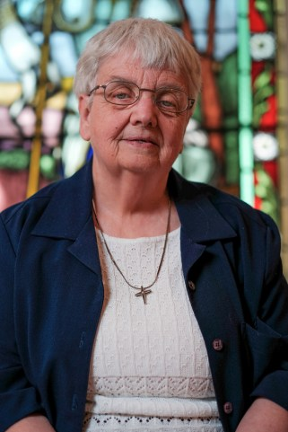 Sister Monique, from eastern Ontario, entered the order in 1963 and has held many roles outside of the Institute over the years. Photo by Ted Simpson