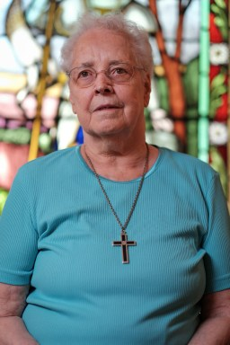 Sister Simone entered the order in 1954. Photo by Ted Simpson