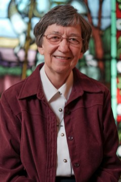 Sister Yvette is theSuperior General of the Order. She entered the order in 1961, and was honoured with Pro Ecclesia et PontificeCrossin1997by Jean Paul ll and aBlessing from Pope Francisin2015. Photo by Ted Simpson
