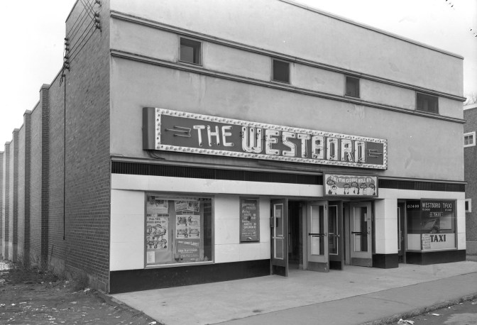 The Westboro Theatre on March 17, 1947. Photo courtesy of Ottawa Archives, Sproul Collection (E00298)