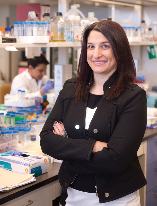 Dr. Natasha Kekre is part of an initiative to bring cancer immunotherapy using CAR-T cells to Ottawa. Photo by mark holleron