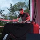 Westfest resident DJ Jungle Jen kept the crowds moving