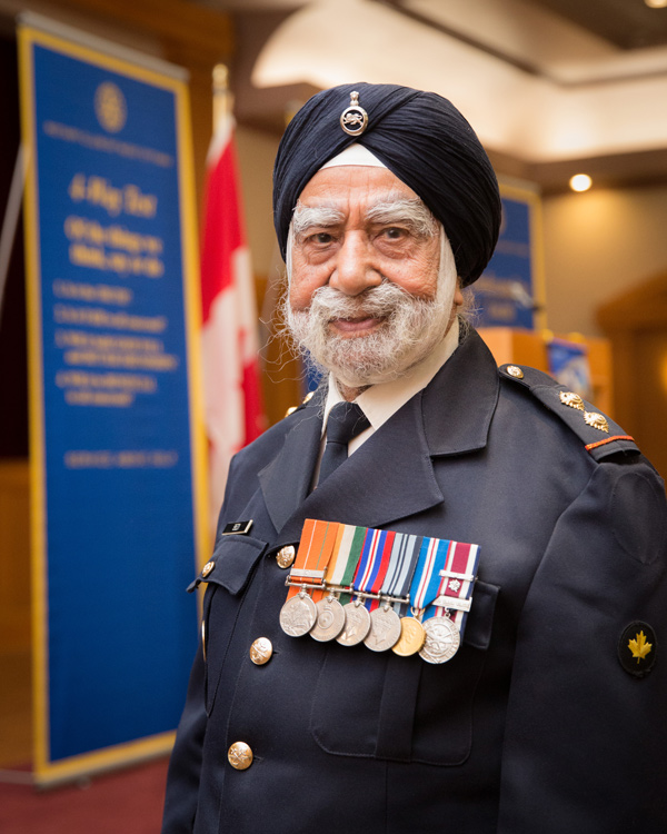 Gurbachan Singh Bedi will be turning 100 in September. Photo courtesy of Inna-studio.ca