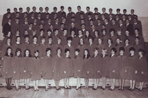 Grad photo of the Nepean High School class of 1967