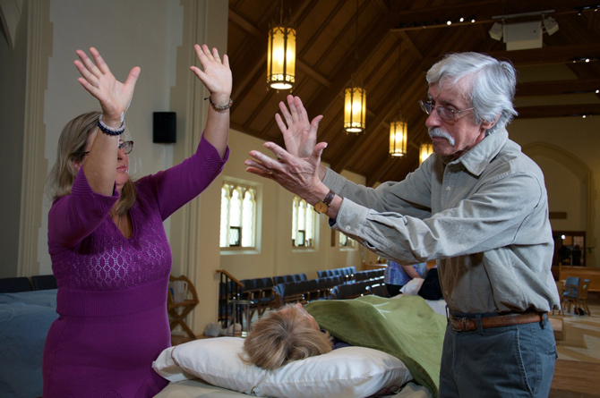Photos of Carol Garceau and Paul Durber, by Matthew MacDonald.