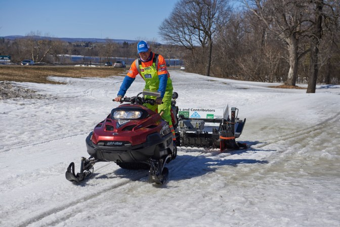 Dave Adams says the Sir John A. MacDonald (SJAM) Winter Trail is quickly carving its own space in the Ottawa winter landscape. File photo by Ellen Bond