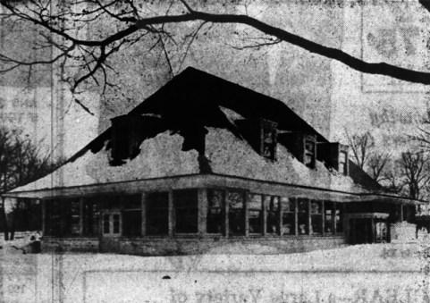 Restaurant grand opening in 1948