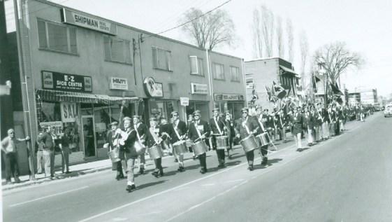 Westboro Legion Opening day parade