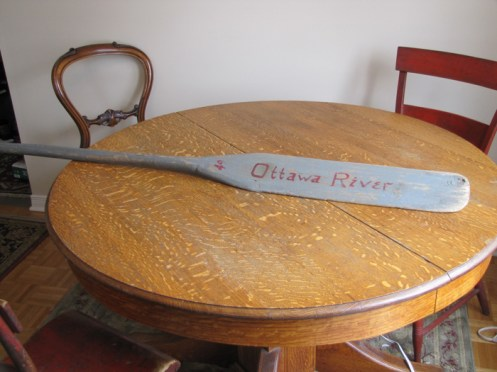 Vintage paddle from Shaun Markey's collection