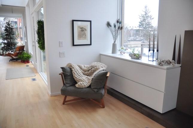 A cozy corner to read