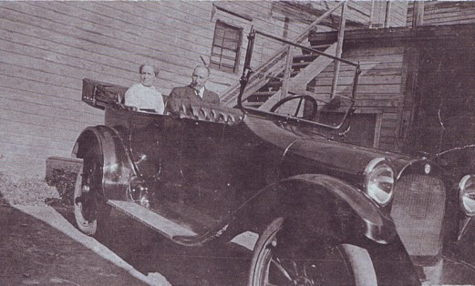 "Francis reputedly was Hintonburg's first automobile owner, proudly operating a 1915 Dodge Touring Sedan, which sported fender damage early on. ""Apparently grandpa didn't convert from horse to car readily,"" wrote a grandchild on the back of an old family photo. Photo courtesy of Donald Gilchrist"