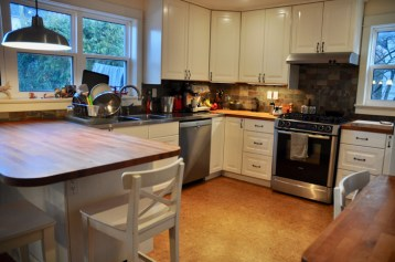 The kitchen is the heart of the Athlone home.