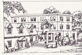 Eric Cohen's proposed addition to Aylen-Heney House
