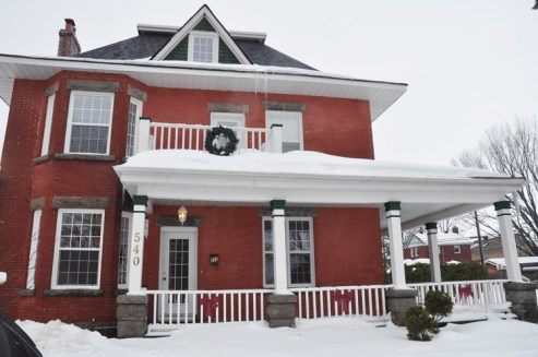 """540 Wavell Ave. is one of the oldest surviving homes in Westboro and it has a wonderful view of the park. The reader who suggested it to us referred to it as """"the house with the great front porch."""" Photo by Andrea Tomkins"""