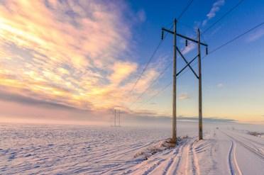 """A misty winter morning in rural Ottawa"" by Guoqiang-Xue"