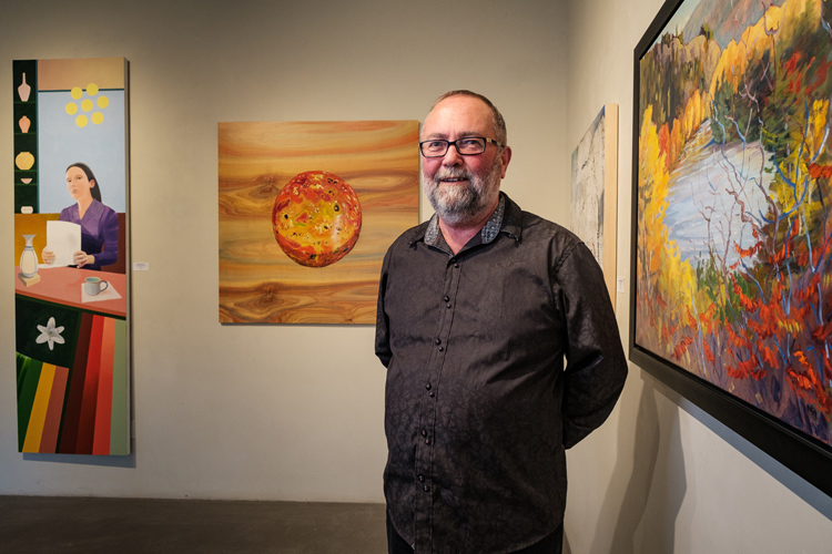 Don Monet of Cube Gallery, Wellington West Ottawa