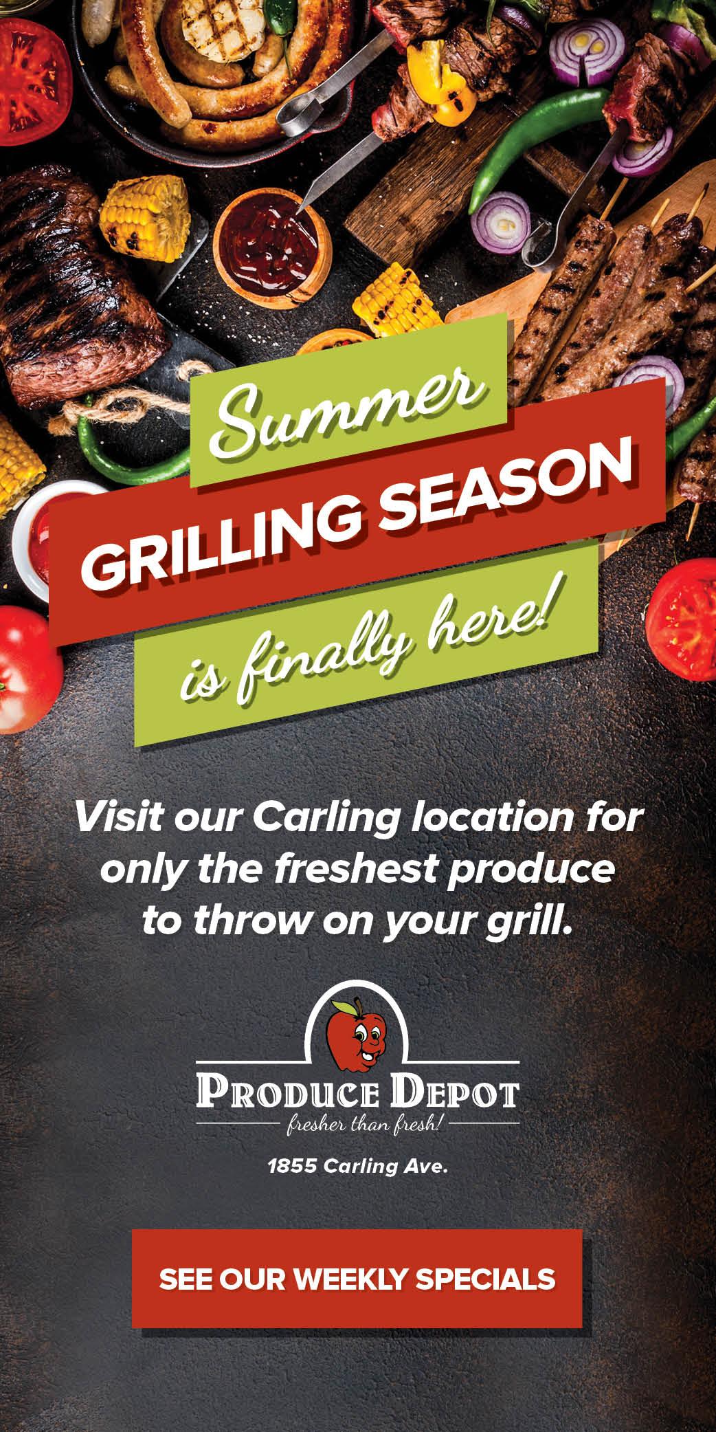 Produce Depot grilling season