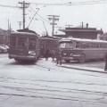 Streetcar turn at Holland and Byron