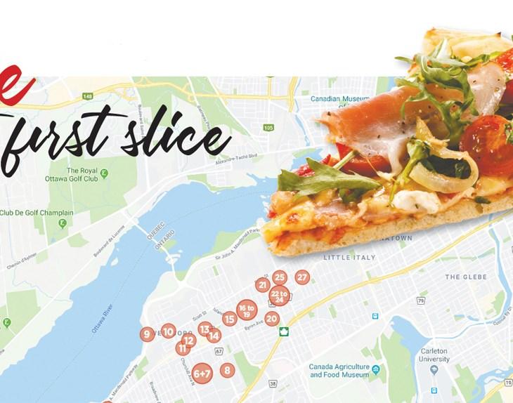 Kitchissippi pizza map