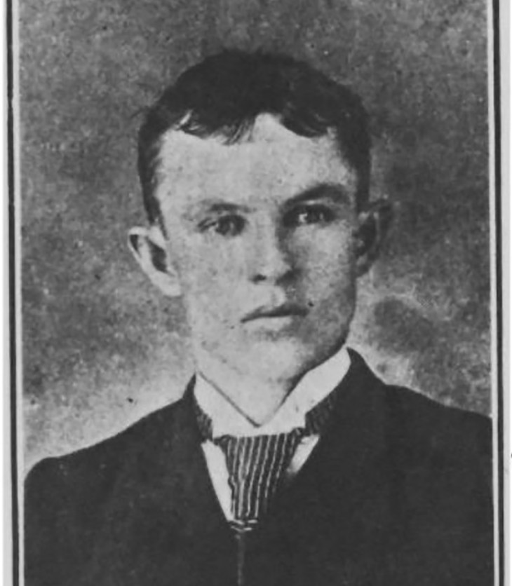 An old photo of Patrick Mears, a community leader in the early 1900s.