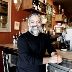 Rod Castro of 10fourteen, a participating business in the LOVE.WellingtonWest.ca crowdfunding campaign. Photo courtesy of the Wellington West BIA.