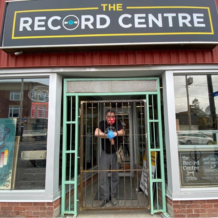 The Record Store. Photo courtesy of the Wellington West BIA.