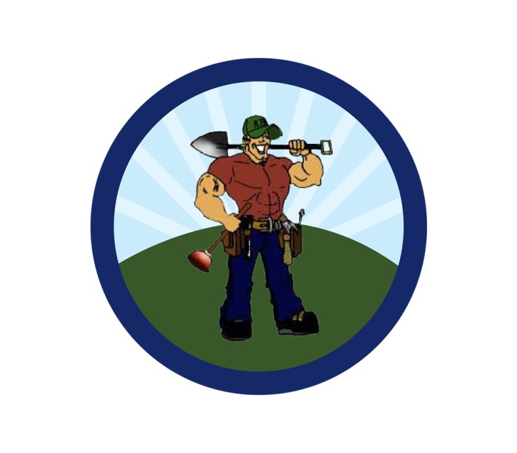 The odd Job Man-logo