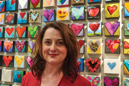 """Artist Alison Fowler says she's thrilled with the community's excitement and support. """"I sold out last year, so I knew it was going to be another great year, but I was definitely overwhelmed with the response,"""" she says. """"We're already thinking about what to do next year! This neighbourhood is so great. I love it."""""""