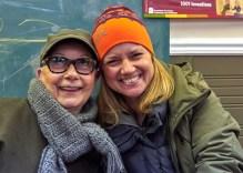 Linda Banys and her daughter Mackenzie Banys. Photo by Ellen Bond