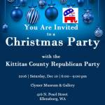 "You Are Invited to ""Christmas Party With Us"" at the Clymer"