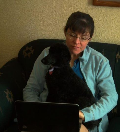 All I need to write is a poodle and a laptop. Or is it?