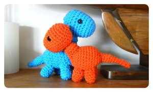 Baby Brachiosaurus designed by Jana Whitley