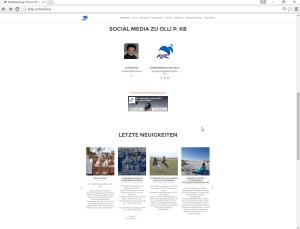 Olli P. KB neuer Webauftritt