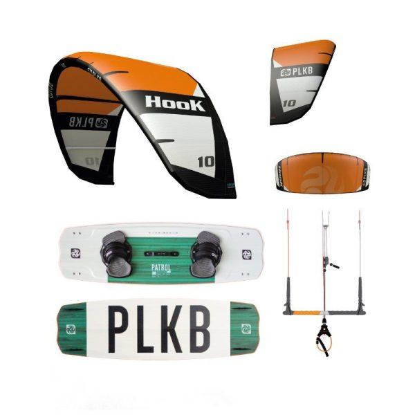 KiteSet Peter Lynn Hook V2 + PL Navigator Bar M + PL Patrol Board