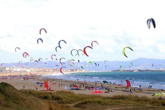 Tarifa kite surf trip