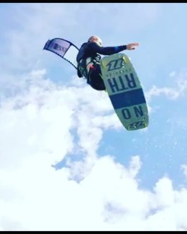 week rent kitesurfing  lake garda