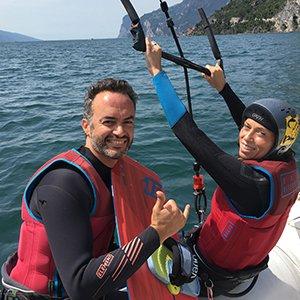 kite Lake Garda