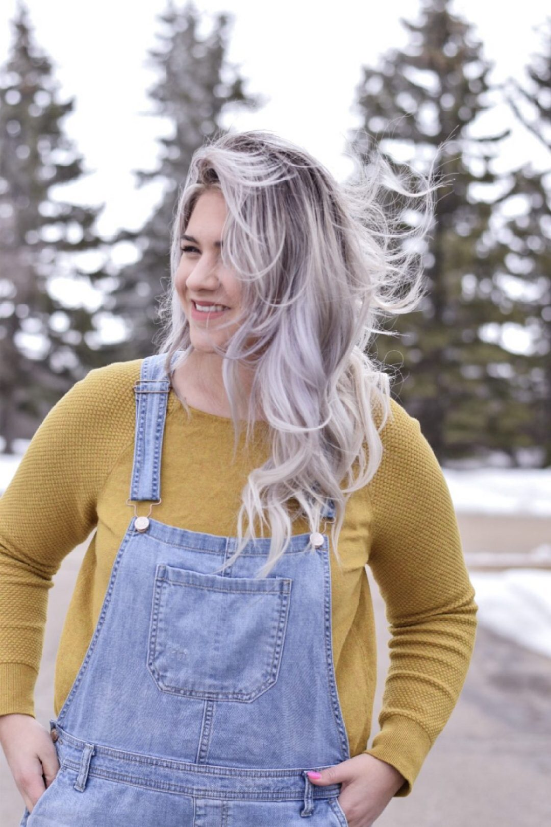 Overalls in early spring