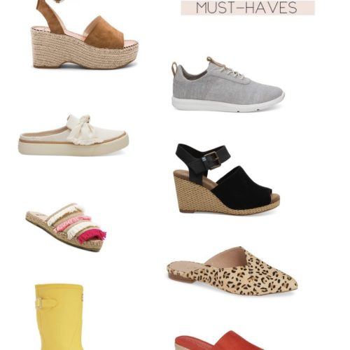 Spring 2019 Shoe Must-Haves