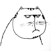 "My Imaginary cat ""Alan"""