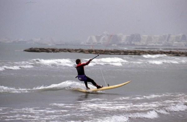 premier jibe en kitesurf
